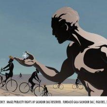 Una sequenza di Destino, ideato da Salvador Dalì