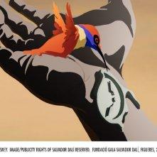 Una sequenza di Destino, il corto ideato da Salvador Dalì
