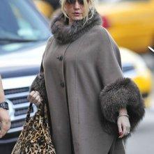Jessica Simpson arriva al suo albergo di New York