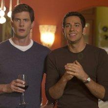 Ryan McPartlin e Zachary Levi in una scena dell'episodio Chuck Versus the Leftovers