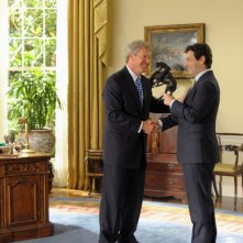 Dennis Quaid e Michael Sheen interpretano Bill Clinton e Tony Blair nel film I due presidenti
