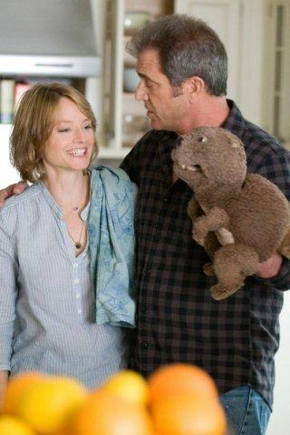 Jodie Foster e Mel Gibson in Mr. Beaver
