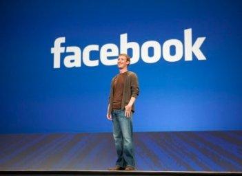 Mark Zuckerberg, fondatore di Facebook.