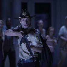Andrew Lincoln nell'episodio TS-19 di The Walking Dead