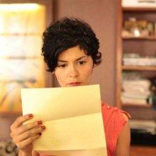 Audrey Tautou in una scena della commedia De vrais mensonges