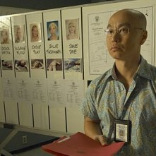 C.S. Lee in una scena dell'episodio In the Beginning della quinta stagione di Dexter