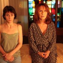 Judith Chemla con Nathalie Baye nel film De vrais mensonges