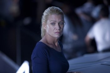 Laurie Holden nell'episodio TS-19 di The Walking Dead