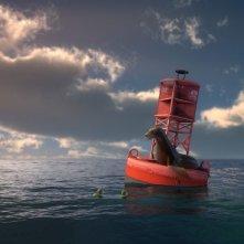 Un'immagine tratta dal film d'animazione Le avventure di Sammy - Il passaggio segreto