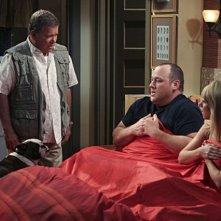 William Shatner, Nicole Sullivan e Will Sasso in $#*! My Dad Says nell'episodio Make a wish