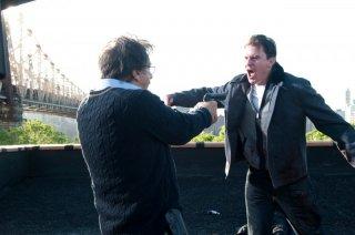 Al Pacino e Channing Tatum in una drammatica sequenza di The Son of No One