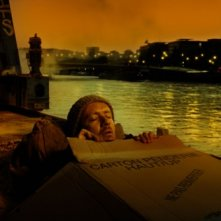 Dany Boon in una scena del film L'esplosivo piano di Bazil