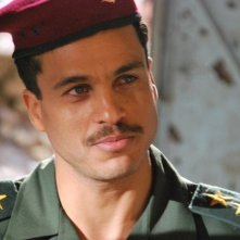 Mohamed Zouaoui in una scena di un film