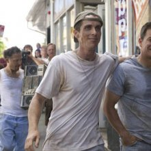 Christian Bale e Mark Wahlberg sul set del drammatico The Fighter