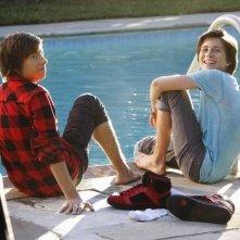 Jimmy Bennett e Billy Unger nell'episodio No Ordinary Friends di No Ordinary Family