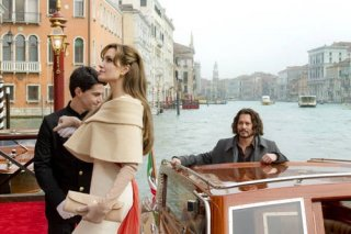Johnny Depp e Angelina Jolie a Venezia per il film The Tourist
