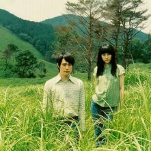 Ken'ichi Matsuyama e Rinko Kikuchi in una scena del film Norwegian Wood