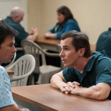 Mark Wahlberg e Christian Bale nel film The Fighter