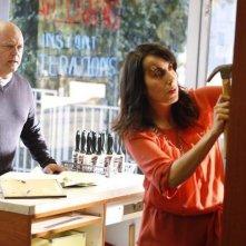 Michael Chiklis ed Anastasia Basil nell'episodio No Ordinary Sidekick di No Ordinary Family