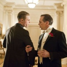 Michael Pitt e Steve Buscemi in una scena dell'episodio A Return to Normalcy di Boardwalk Empire
