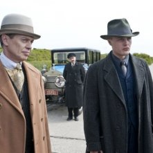 Steve Buscemi e Michael Pitt in una scena dell'episodio A Return to Normalcy di Boardwalk Empire