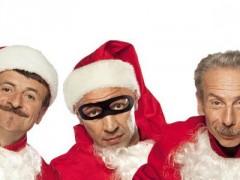 Aldo, Giovanni e Giacomo presentano 'La banda dei Babbi Natale'