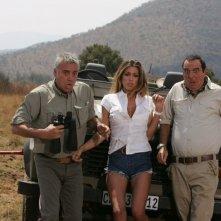 Massimo Ghini, Belen Rodriguez e Giorgio Panariello in Natale in Sudafrica