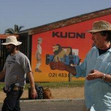 Il regista Neri Parenti dirige Natale in Sudafrica