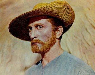 Wallpaper: Kirk Douglas è Vincent Van Gogh in Brama di vivere