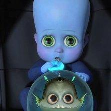 Nascita del superercattivo e dell'amico Minion nel film Megamind