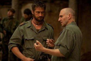 Fiennes e Butler nel film Coriolanus