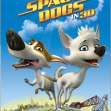 Poster USA per Space Dogs 3D