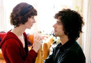 Miranda July e Hamish Linklater in una scena di The Future