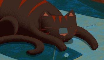 Dino, protagonista felino di Une vie de chat