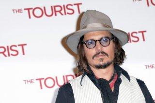 Johnny Depp presenta alla stampa italiana The Tourist