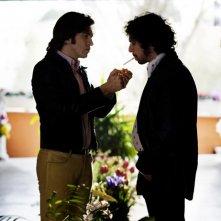 Alessandro Roja e Francesco Montanari nell'ultimo episodio di Romanzo Criminale 2