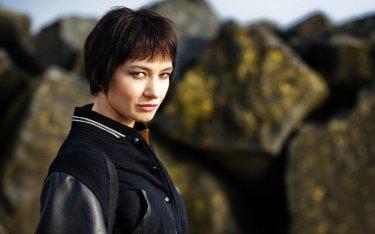 Giovanna Di Rauso (Donatella) nell'ultimo episodio di Romanzo Criminale - La serie