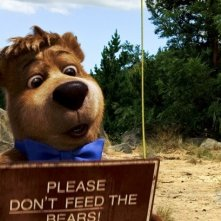 Il piccolo Bubu in una scena del film Yogi Bear 3D