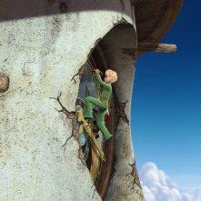 Il protagonista e l'orologio nella serie d'animazione Il Piccolo Principe