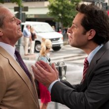 Jack Nicholson con Paul Rudd in una scena della commedia Come lo sai