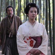 Koji Yakusho e Nanami Sakuraba nel film The Last Chushingura