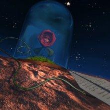 La Rosa e la lettera in una scena della serie Il Piccolo Principe