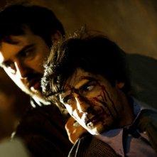 Marco Bocci (Commissario Scialoja) in una scena del nono episodio di Romanzo Criminale 2