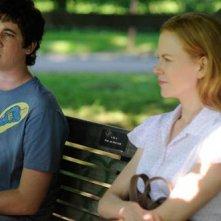 Miles Teller e Nicole Kidman in una scena del film Rabbit Hole