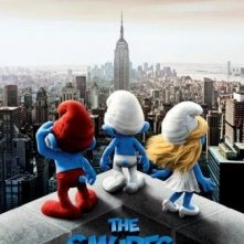 Primo teaser poster per The Smurfs (I puffi)