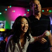 Sandra Oh e Aaron Eckhart in una scena del film Rabbit Hole