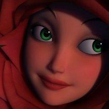 Un primo piano di La Rosa nella serie Il Piccolo Principe