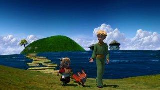 Una simpatica comitiva in una scena della serie Il Piccolo Principe