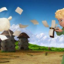 Una suggestiva scena della serie d'animazione Il Piccolo Principe