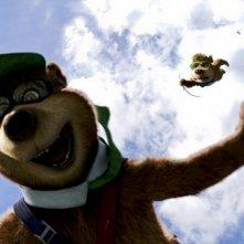 Yoghi e Bubu, due simpatici combinaguai nel film Yogi Bear 3D